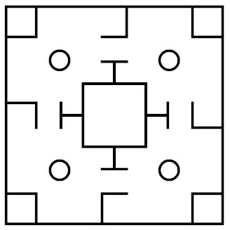 liubo-game-board-pattern