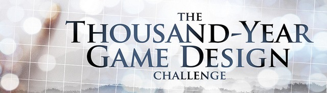 بنر چالش طراحی بازی هزارساله