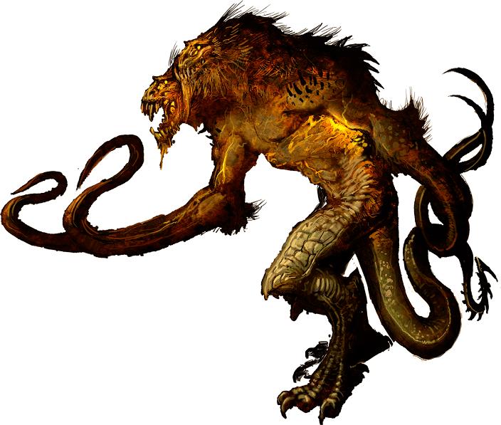 تصویر دموگورگون در D&D نسخه 5