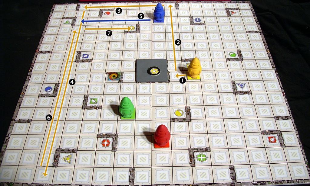 Ricochet Robots Board