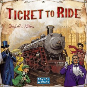 Ticket to Ride - Box Cover