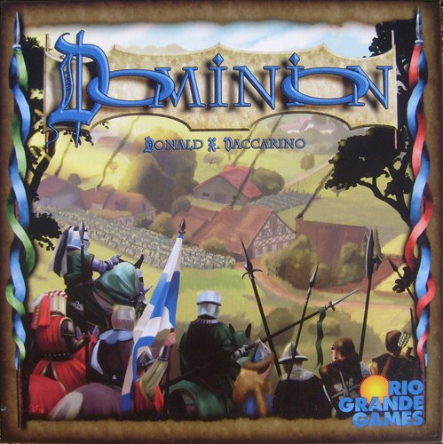 باکس کاور بازی Dominion