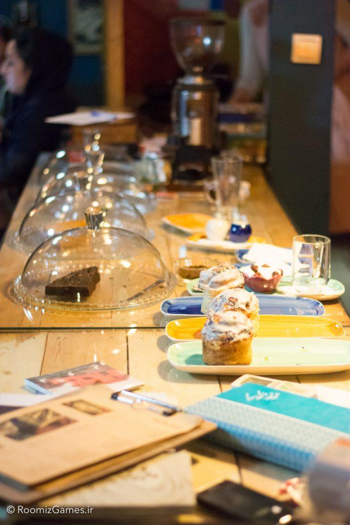 ای کافه! یاد بگیر قهوه درست کنی.
