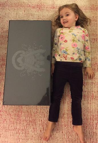 جعبه بازی در کنار یک کودک 3 ساله!