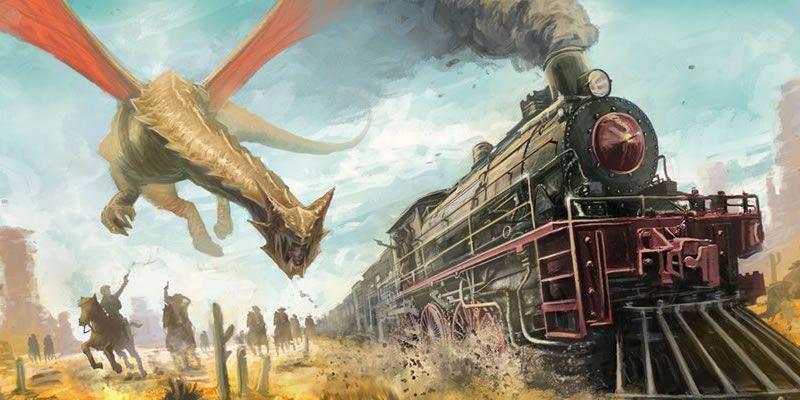 غرب وحشی در دنیای سیاهچال و اژدها