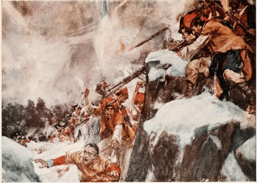 عقب نشینی ارتش بریتانیا از کابل در سال 1842