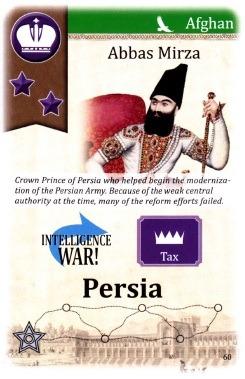 کارت «عباس میرزا»