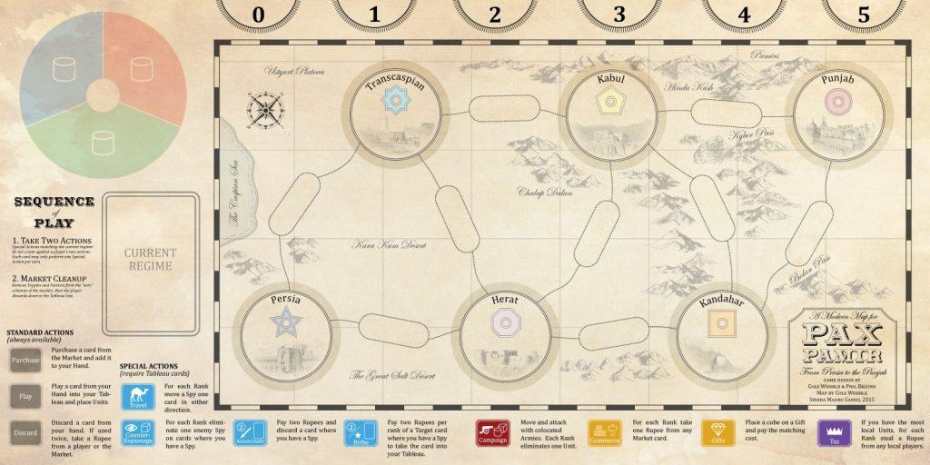 نقشه بازی پکس پامیر