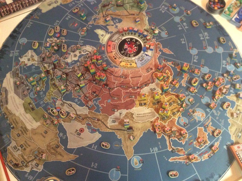 نقشه بازی اتاق جنگ