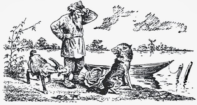 معمای گرگ، گوسفند و کلم